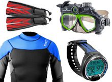 Scuba Dive Equipments